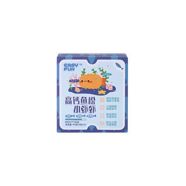 Easy Fun™ 高钙鱼松小虾虾 14袋/盒